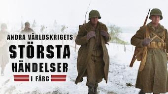Andra världskrigets största händelser i färg (2019)