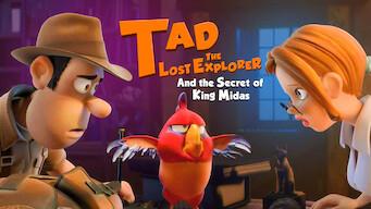 Upptäckaren Tad och kung Midas hemlighet (2017)