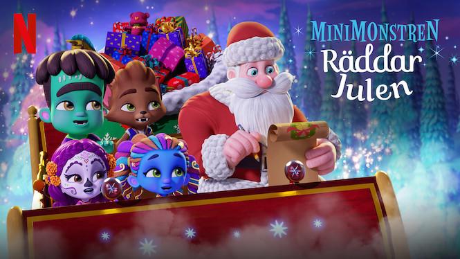 Minimonstren räddar julen