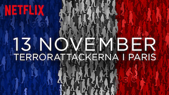 13 november: Terrorattackerna i Paris (2018)