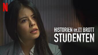 Historien om ett brott: Studenten (2019)